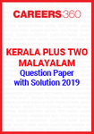 Kerala Plus Two Malayalam Question Paper with Solution 2019