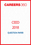 CEED 2018 Question Paper