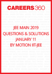 JEE Main 2019 Questions & Solutions By Motion IIT-JEE (January 11)