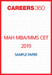 MAH-MBA MMS-CET 2019 Sample Paper