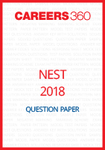 NEST 2018 Question Paper