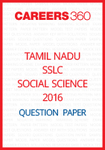 Tamil Nadu SSLC Social Science Model Question Papers 2016