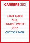 Tamil Nadu SSLC English Paper I Model Question Papers 2017