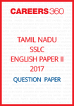 Tamil Nadu SSLC English Paper II Model Question Papers 2017