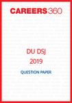 DU DSJ 2019 Question Paper