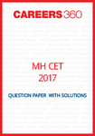 MH CET 2017 Question Paper with solutions