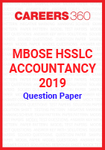 MBOSE HSSLC Accountancy 2019 Question Papers