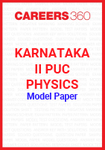 Karnataka II PUC Physics Model Paper