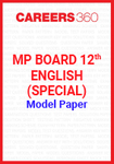 MP Board 12th English (Special) Model Paper