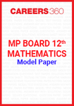MP Board 12th Mathematics Model Paper