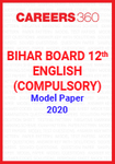 Bihar Board 12th English (Compulsory) Model Paper 2020