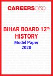 Bihar Board 12th History Model Paper 2020