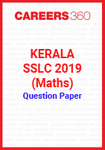 Kerala SSLC 2019 (Maths) Question Paper