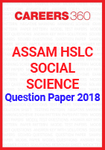 Assam HSLC Social Science Question Paper 2018