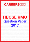 HBCSE RMO Question Paper 2017