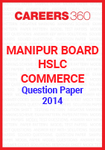 Manipur Board HSLC Commerce Question Paper 2014