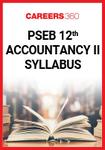 PSEB 12th Accountancy-II Syllabus