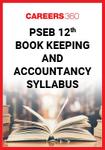PSEB 12th Book Keeping and Accountancy Syllabus