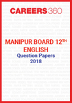 Manipur Board 12th English Question Papers 2018