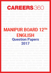 Manipur Board 12th English Question Papers 2017