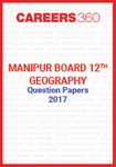Manipur Board 12th Geography Question Papers 2017