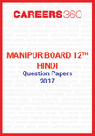Manipur Board 12th Hindi Question Papers 2017