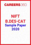NIFT B.Des CAT Sample Paper 2020