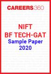 NIFT BF TECH GAT Sample Paper 2020