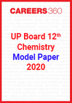UP board 12th Chemistry Model Paper 2020