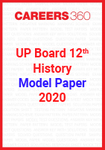 UP board 12th History Model Paper 2020