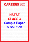 NSTSE Class 3 Sample Paper and Solution