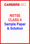 NSTSE Class 4 Sample Paper and Solution