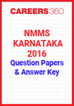 NMMS Karnataka 2016 Question Papers & Answer Key