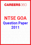 NTSE Goa Question Paper 2011