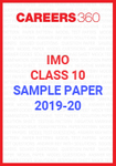 IMO Class 10 Sample Paper 2019-20