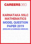 Karnataka SSLC Mathematics Model Paper 2019