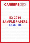 IIO 2019 Sample Papers (Class 10)