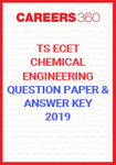 TS ECET Question Paper and Answer Key Chemical Engineering 2019