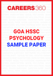 Goa Board HSSC Psychology Sample Papers