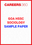 Goa Board HSSC Sociology Sample Papers