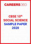 CBSE Class 10 Social Science Sample Paper 2020