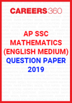 AP SSC Mathematics (English Medium) Question Paper 2019