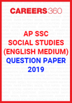 AP SSC Social Studies (English Medium) Question Paper 2019