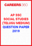 AP SSC Social Studies (Telugu Medium) Question Paper 2019