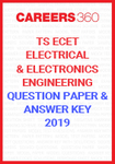 TS ECET Question Paper and Answer Key Electrical Electronics Engineering 2019
