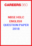NBSE HSLC English Question Papers 2018