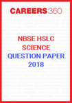 NBSE HSLC Science Question Papers 2018