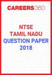 NTSE Tamil Nadu Question Paper 2018