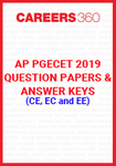 AP PGECET 2019 Question Papers & Answer Keys for CE, EC and EE