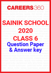 Sainik School Class 6 Question Paper 2020